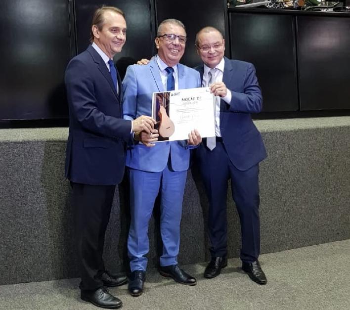 Diretor geral da Casa Prado recebe Moção de Aplausos pela ALMT